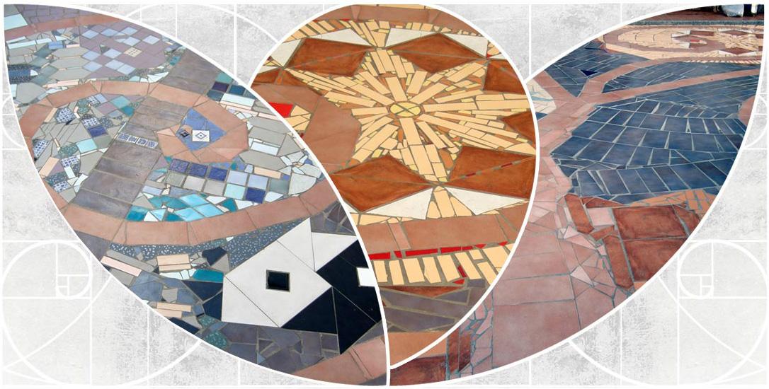 Mosaico - altre opere - Klaus Bamberg Gioielli